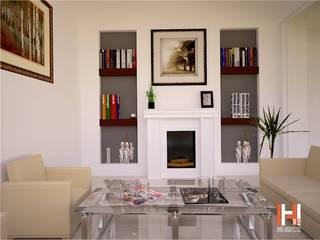HHRG ARQUITECTOS Classic style living room
