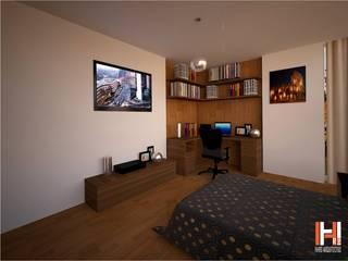 HHRG ARQUITECTOS Modern style bedroom