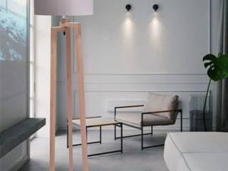 Lamparas de piso decorativas. de Lamparalux Minimalista