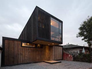 Casa FS Estudio Dikenstein arquitectos Casas de estilo minimalista Acabado en madera