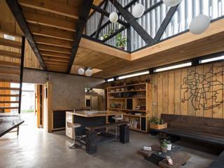 Casa FS Estudio Dikenstein arquitectos Livings de estilo minimalista