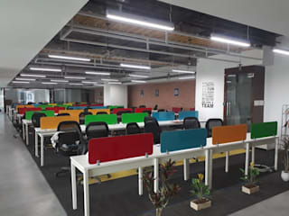 Office Furniture site pictures by Innodesk : modern  by Innodesk Modular,Modern