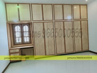 balabharathi pvc interior design BedroomWardrobes & closets Plastic White