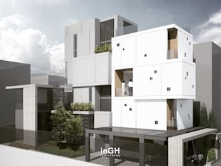 G3H : 4 story House InGH Architects co.,ltd (บจก.อินจีเอช สถาปนิก)