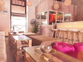 Tequila Mockingbird Modern balcony, veranda & terrace by a-designstudio Modern