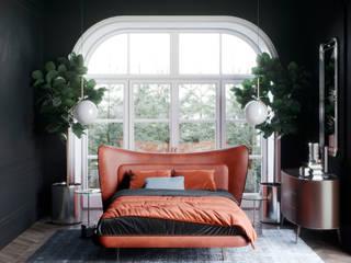 спальная в французском стиле Спальня в стиле модерн от actual design Модерн