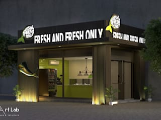 Fresh Fish shop by art lab