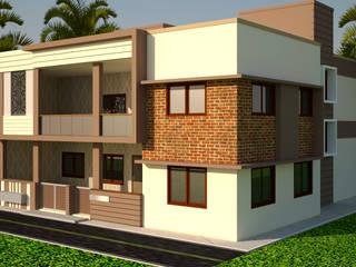 bunglow in lunawada by Nirav Design Modern