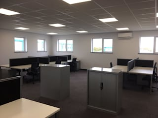 Liverpool John Lennon Airport Office Building Modern office buildings by Cotaplan Portable Buildings Modern