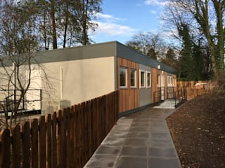 Woodlands Day Nursery Building Country style schools by Cotaplan Portable Buildings Country