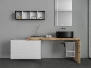 Rendering - Legnobagno di SAMUELE SCIACOVELLI design studio Moderno