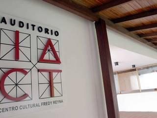 OMAR SEIJAS, ARQUITECTO Moderne Veranstaltungsorte