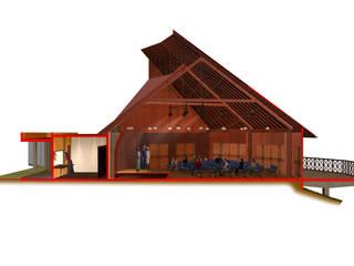 Lieux d'événements modernes par OMAR SEIJAS, ARQUITECTO Moderne