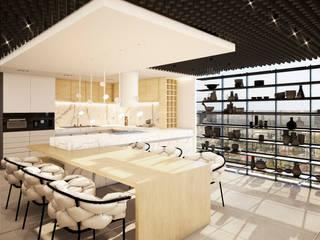 Locaux commerciaux & Magasin modernes par Sulkin Askenazi Moderne