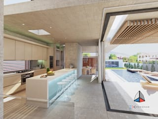 Modern Pool by 3DXperience Modern
