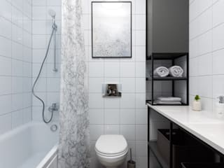 Scandinavian style bathroom by SAZONOVA group Scandinavian