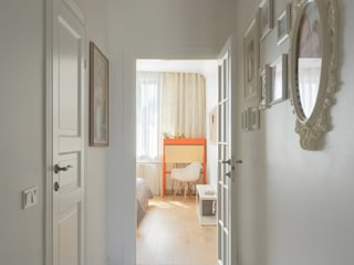 Scandinavian style corridor, hallway& stairs by SAZONOVA group Scandinavian
