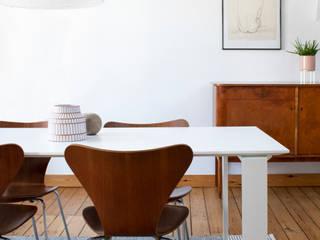 Mini loft, Bruxelles justinside Salle à manger minimaliste