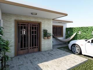 Casas modernas de Graziela Alessio Arquitetura Moderno