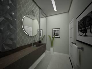 Lavabo - Alphaville Graciosa Danilo Rodrigues Arquitetura Banheiros modernos