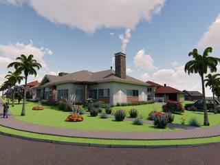 Casa Térrea - Alphaville Graciosa Danilo Rodrigues Arquitetura Casas familiares
