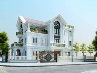 Dự án thiết kế nhà biệt thự đẹp bởi Công ty kiến trúc Việt Architect Group Hiện đại