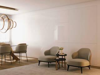 Modern living room by UPFLAT Modern