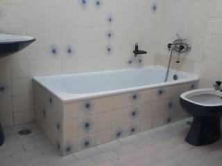 Remodelação em Alvor Casas de banho rústicas por CR PRO Rústico