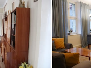 Przestronny apartament po kapitalnym remoncie, w stylu lat 50-tych od MOMA HOME