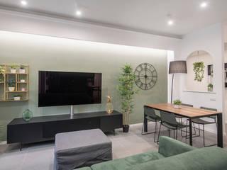 Moderne Wohnzimmer von Facile Ristrutturare Modern