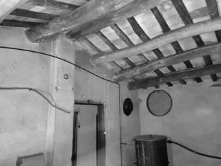 Esteve Arquitectes Roof terrace Wood Wood effect