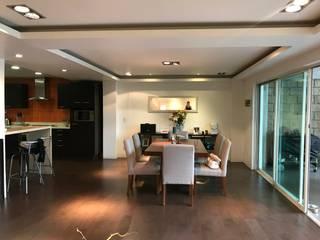 Casa en Lomas de Chamizal , CDMX de Home Reface ® By Natalia Jiménez
