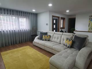 Remodelação Sala Estar Salas de estar modernas por Versatilis Inovação Design Moderno