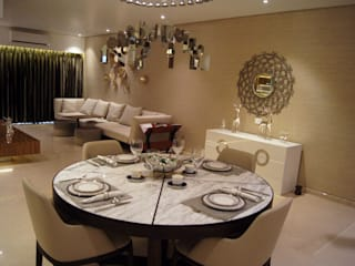 4BHK Flat and Lobby Mumbai by Acmeview Interior Solutions Modern