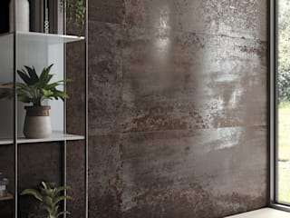 Dimensione Edilizia Eclectic style walls & floors Tiles Metallic/Silver