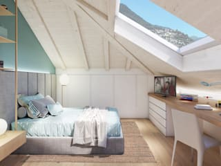 Modern style bedroom by Feng Shui Studio Modern