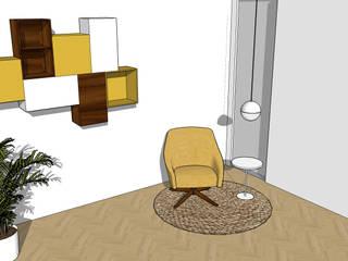 Gezellig leeshoekje Moderne woonkamers van Dees interieur Modern