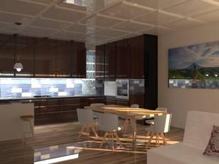 kitch net em aveiro Salas de jantar modernas por design cloud Moderno