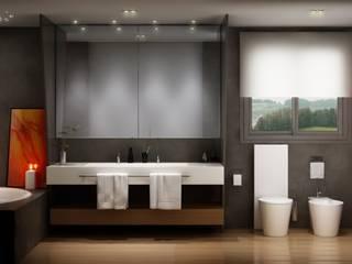 Baño de Freelance3d Moderno