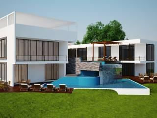 Quinta en Villahermosa, tabasco de JARAMILLO B DESIGN Moderno