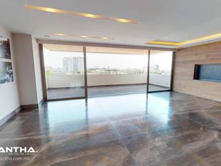 Luxury Condos - Departamento sin amueblar de Lujo - Recorrido Virtual 360º Salones modernos de Bantha VR Moderno