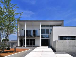 HOUSE-ISU 島田博一建築設計室 モダンな 家