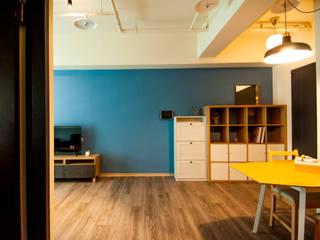 逢甲承租套房 根據 晴川室內裝修設計有限公司 北歐風
