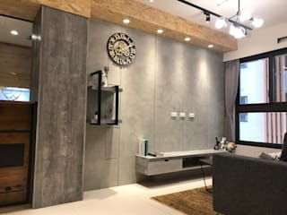 威均 - 天翔實品屋E3 根據 歐皇系統傢俱有限公司 工業風