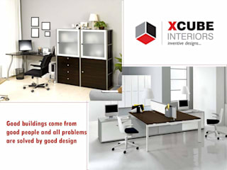Commercial Projects By Xcube Interiors: modern  by xcubeinteriors,Modern