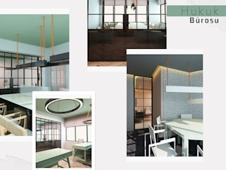 Kut İç Mimarlık – Hukuk Bürosu Tasarımı: minimalist tarz , Minimalist