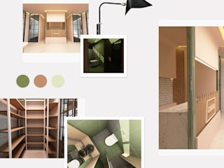 Hukuk Bürosu Tasarımı Kut İç Mimarlık Minimalist Duvar & Zemin Ahşap Turkuaz