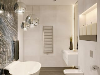 Minimal style Bathroom by MARION STUDIO Minimalist