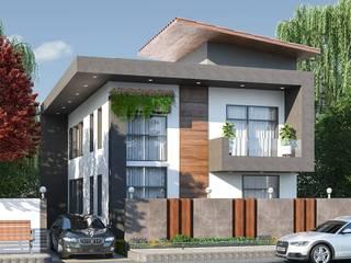 Casa Lua Modern houses by Archizi Modern