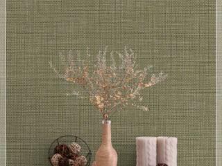 Colección de Papel Tapiz Natura Decora Pro Paredes y pisosDecoración de paredes Papel Verde
